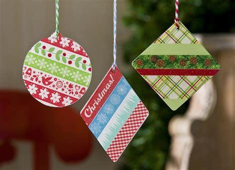 washi tape ornaments using acrylic shapes washi tape crafts