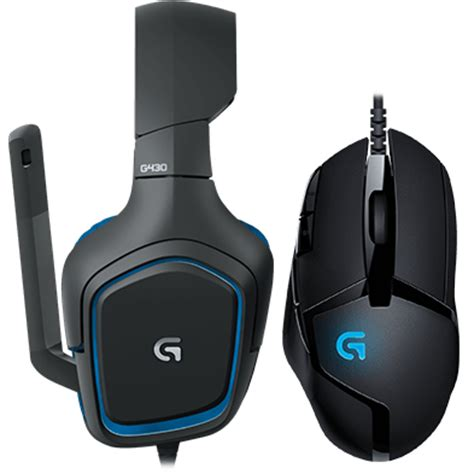 logitech g430 surround sound gaming headset with g402