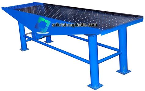 vibrating table machine paver block machine