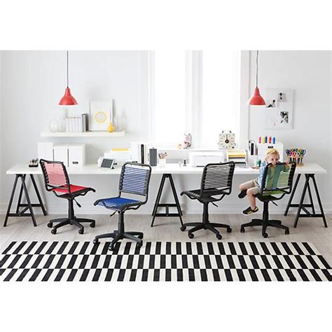 container store desk chair green bungee office chair the container store