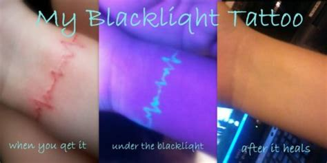 glow in the dark tattoo pros and cons black light tattoo so cool this is the only kind of