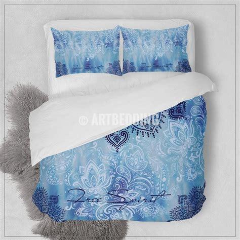 blue boho bedding bohemian bedding mandala elephant bedding boho beding