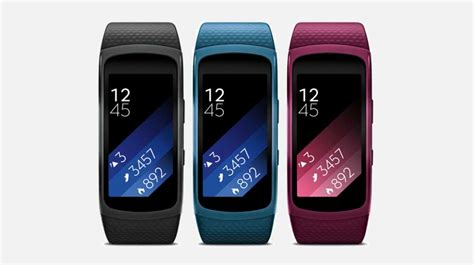 Samsung Gear Fit New Terlaris samsung gear fit 2 fitness band with gps launched at 179