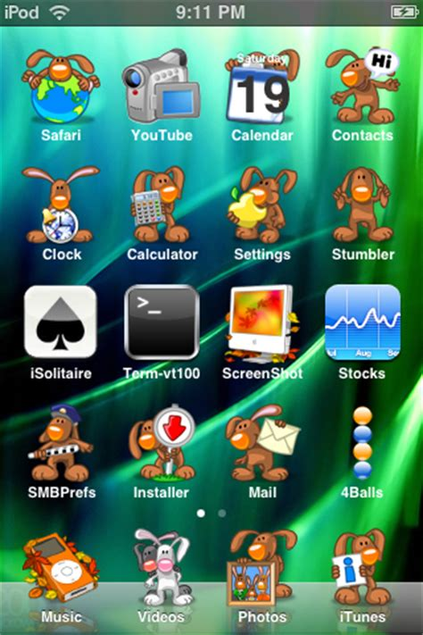 cute themes for iphone jailbreak 150 great themes for your iphone or ipod touch