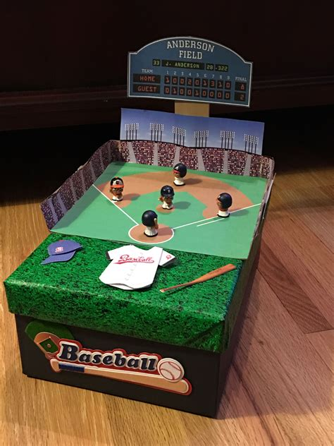 sports box ideas nick s baseball field box s day