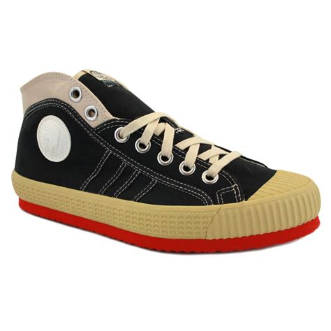 all mens sneakers diesel yuk anniversary mens canvas black trainers new