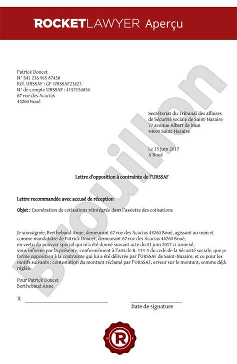 Exemple De Lettre Securite Sociale modele de lettre au tribunal des affaires de securite