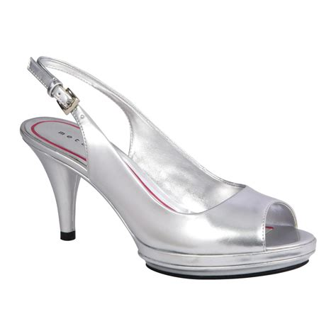 s silver dress shoe sparkling evening sandals from