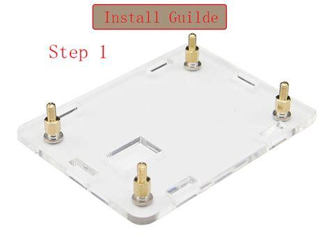 Termurah Orange Pi One Development Board Casing Box Ah12 3 in 1 orange pi one 512mb h3 development board acrylic cooling fan heatsink