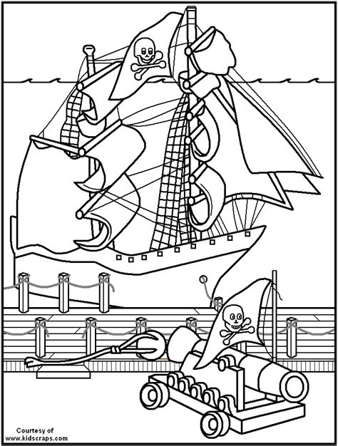 Pirate Ship Coloring Page Coloring Home Free Pirate Coloring Pages For Coloring Home