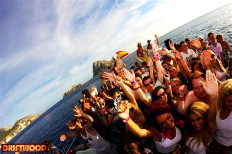soul fine boat party driftwood ibiza boat parties playa d en bossa info