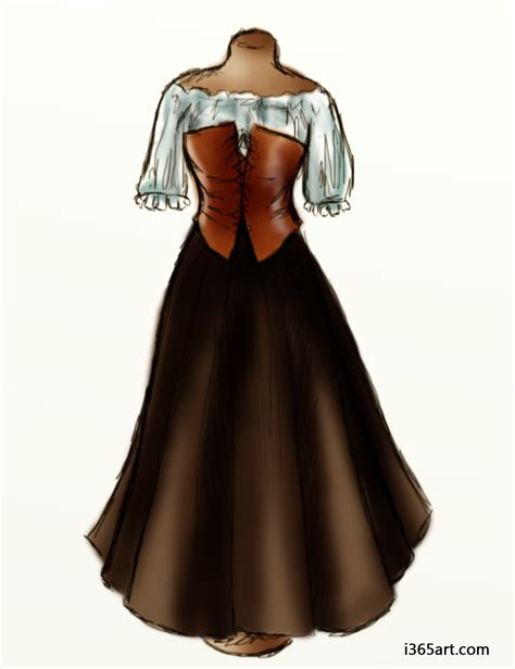 renaissance peasant dresses peasant wench dress i365art