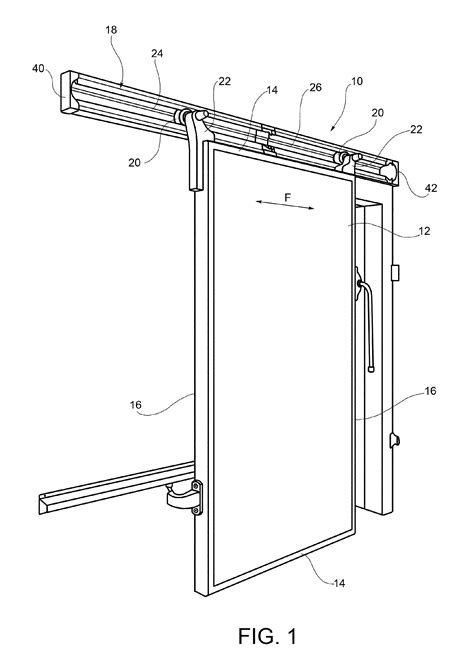how to draw a sliding door in a floor plan patent ep2584131a1 sliding door with reversible sliding