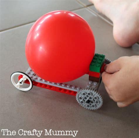 Kupon Souvenir Model Air Mail balloon propelled lego car family crafts