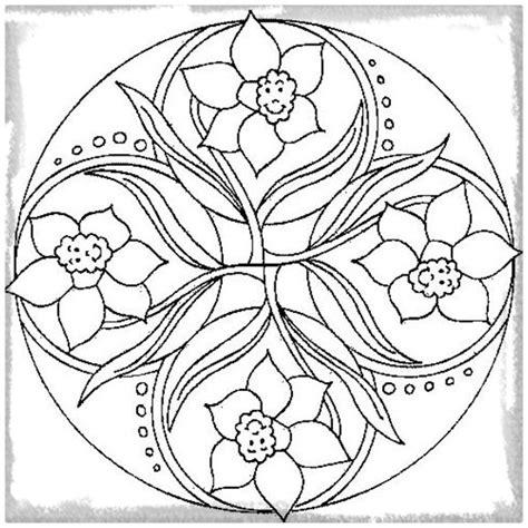 imagenes de mandalas sobre la naturaleza dibujos para colorear de mandalas infantiles archivos