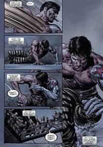 Bucky Barnes Comic Jailbreak Winter Soldier Arousing Grammar