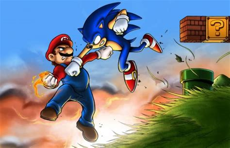 imagenes epicas mario how rivals mario and sonic became friends at the olympic