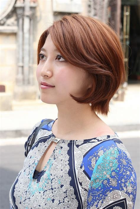 side views of short layeredbobs short asian bob hairstyle for women side view of layered