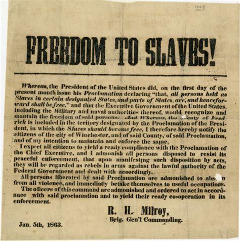 emancipation proclamation lincoln the emancipation proclamation 150 years 2nd air