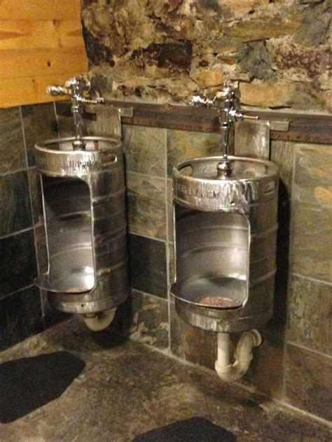 bar bathroom ideas lewis clark brewery tap room re purposed