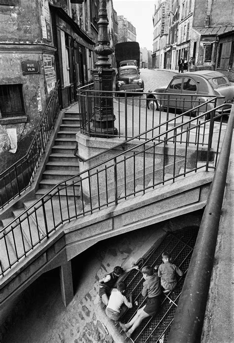 Willy Ronis series: his photographs of Belleville and