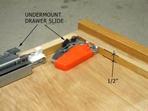 How To Install Blum Undermount Drawer Slides by Blum Drawer Slides Chest Of Drawers
