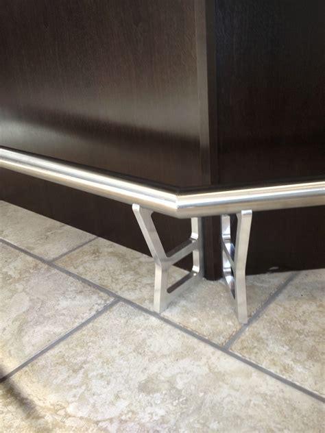 piece stainless steel bar foot rest dsw