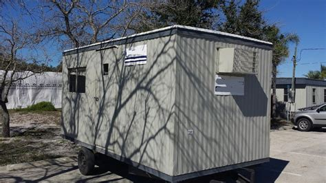 Used Shed Trailer by Portable Buildings For Sale In Florida