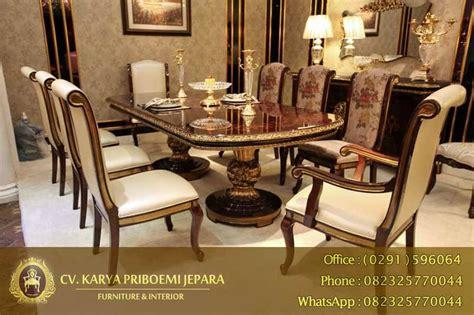 Tempat Tidur Empire 10 gambar meja makan kayu jati terbaik mebel jepara