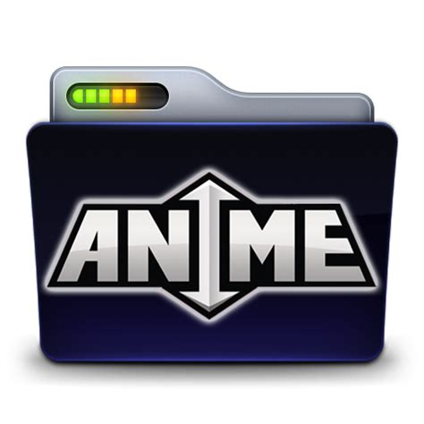 anime icon anime folder icon by zeaig on deviantart
