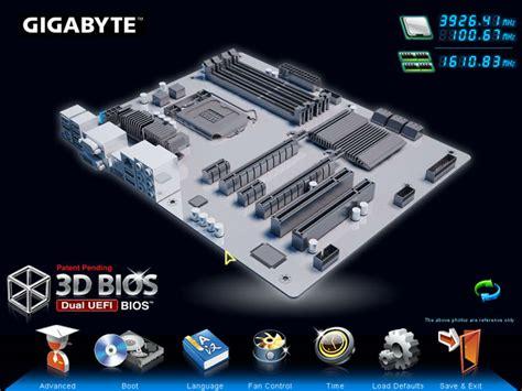 reset bios ga z77x d3h gigabyte z77x d3h motherboard review the uefi bios