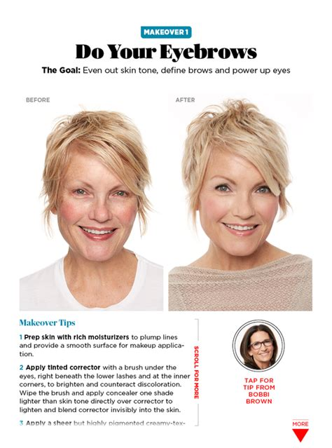 hair makeovers for women over 40 shesparkjune2016 face brown and makeup