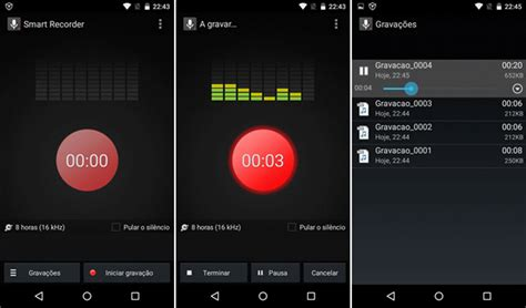 android audio recorder top 5 gravadores de voz para android