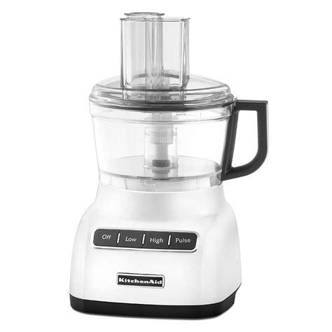 Food Blender Kitchenaid Kitchenaid Kfp0711wh 3 Speed Food Processor W 7 Cup