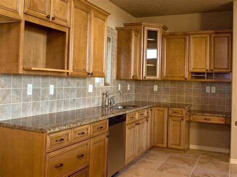 Kitchen Cabinet Options | kitchen cabinet design ideas pictures options tips