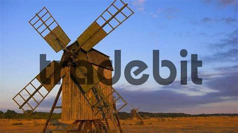 Instant Oland windmills at jordanhsam oland sweden architecture