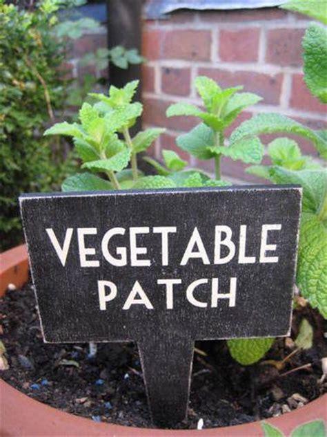 Garden Signs For Vegetables Vegetable Patch Sign Ebay Uk Gardening Inspiration