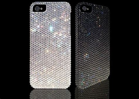 Swarovski Casing For Iphone 66s swarovski studded iphone 5 from rocked pursuitist