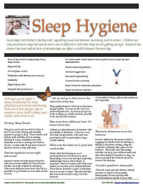 sleep hygiene tips to improve sleep hygiene