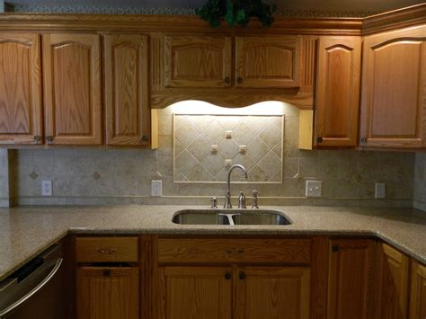 kitchen countertop ideas with oak cabinets hardwoods