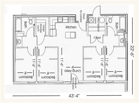 lincoln memorial floor plan the village university housing nebraska