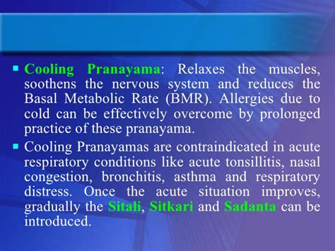 Sitali And Sitkari Pranayams To Cool Your In Summer by Introduction Therapy For The Management Of