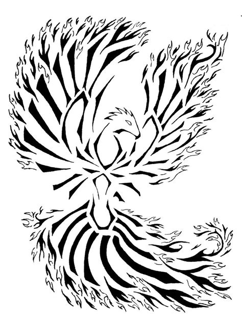 tribal phoenix tattoo tattoos designs ideas and meaning tattoos for you