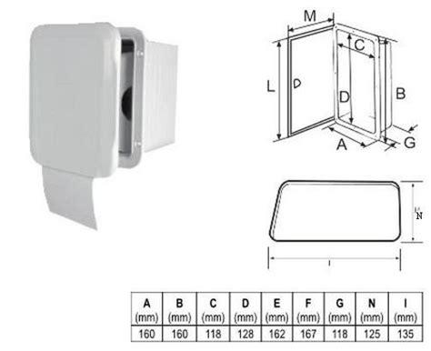 jabsco toilet winterklaar toilet rol houder met deur bootschappen