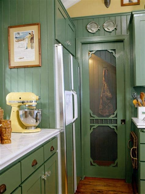 Screen Pantry Door by Screen Door Pantry Kitchen