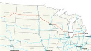 interstate map of file interstate 94 map png