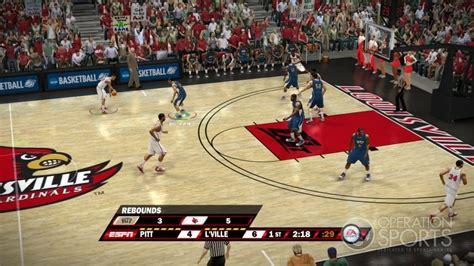 ncaa basketball 10 ps3 roster ncaa basketball 10 screenshot 16 for xbox 360 operation