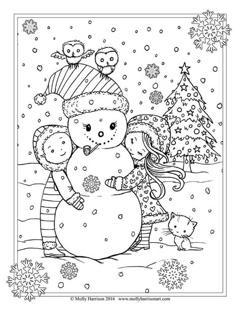 holiday owl coloring page 467 best christmas colors images on pinterest coloring