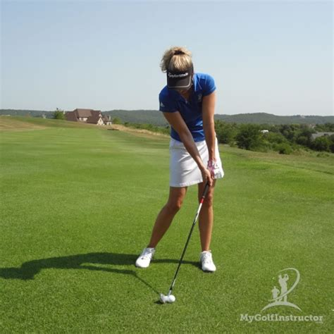 golf swing or hit stripe your irons my golf instructor
