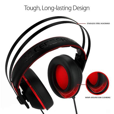 Asus Headset Black asus cerberus v2 gaming headset black best deal